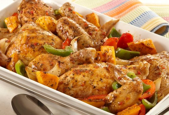 Przepis na kurczaka z warzywami